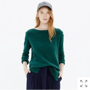 Madewell Pinewood Sweater in Willow Bough XXS